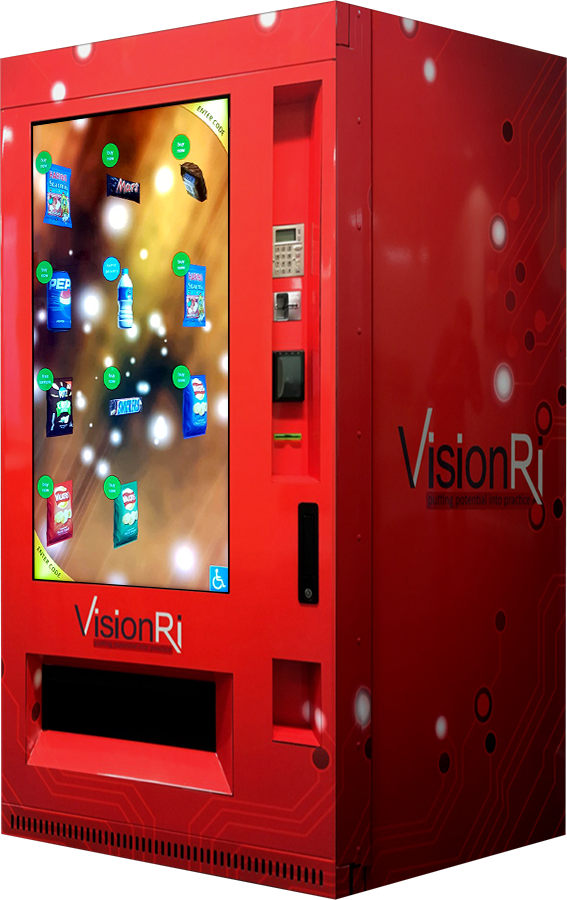 VisionRi Vending Front